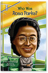Who Was Rosa Parks? Book Cover