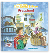 The Night Before Preschool Book Cover