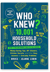 Who Knew? 10,001 Household Solutions Book Cover
