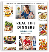 Real Life Dinners Book Covers