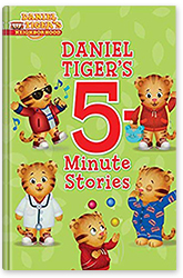 Daniel Tiger's 5-Minute Stories Book Cover