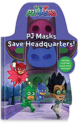 PJ Masks Save Headquarters Book Cover