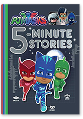 PJ Masks' 5-Minute Stories Book Cover