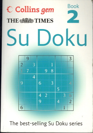 Su Doku Book 2 (Collins Gem)