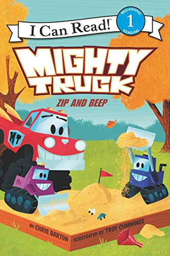 Zip and Beep (Mighty Trucks, I Can Read! Level 1)
