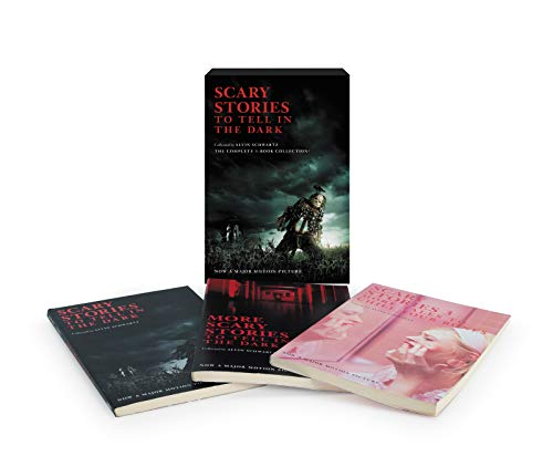 Scary Stories 3-Book Box Set  (Scary Stories to Tell in the Dark/More Scary Stories to Tell in the Dark/Scary Stories 3)