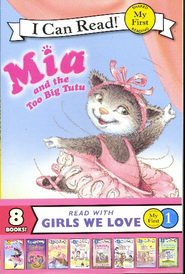 Read with Girls we Love: 8 Book Collection (I Can Read)