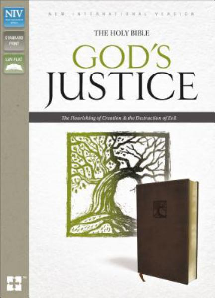 NIV God's Justice Bible (Brown Italian Duo-Tone)