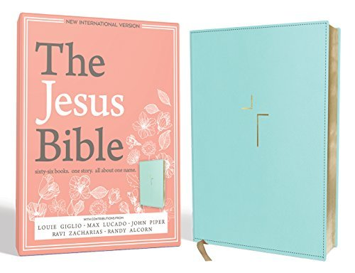 The Jesus Bible (NIV, Blue Imitation Leather)