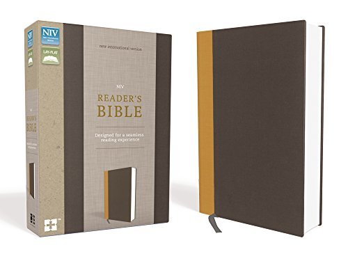 NIV Reader's Bible (Gold/Gray Cloth Over Board)