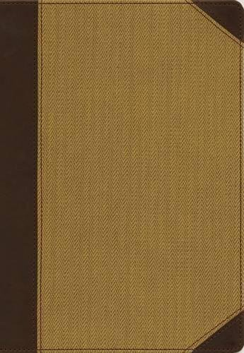 NIV, Cultural Backgrounds Study Bible, Large Print (Leathersoft Brown/Tan)