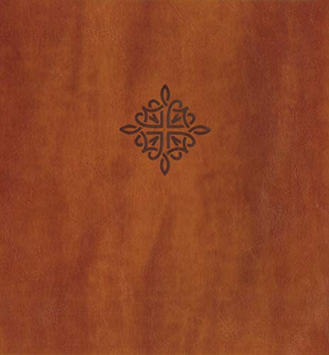 NRSV, Comfort Print Holy Bible, XL Edition with Apocrypha (Brown Leathersoft)