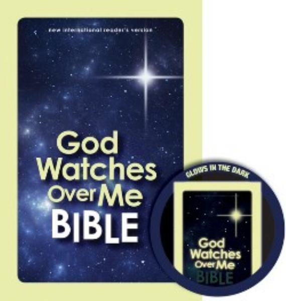 God Watches Over Me Bible (Glow in the Dark Cover)