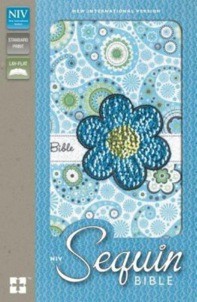 NIV Sequin Bible (Blue Sparkle Flexcover)