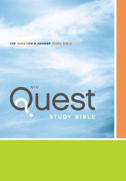 NIV Quest Study Bible