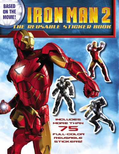 The Reusable Sticker Book (Iron Man 2)