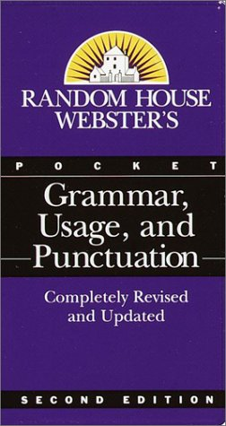 Pocket Grammar, Usage, and Punctuation (Random House Webster, 2nd Edition)