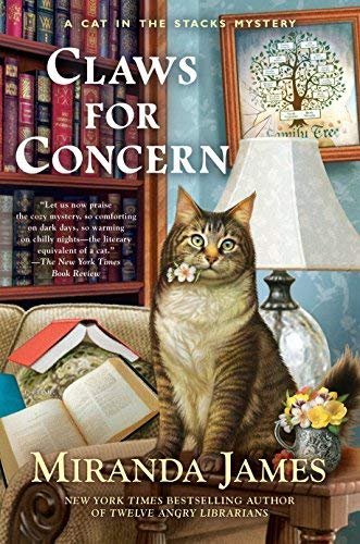 Claws for Concern (Cat in the Stacks Mystery, Bk. 9)