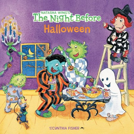 The Night Before Halloween (Reading Railroad Books)
