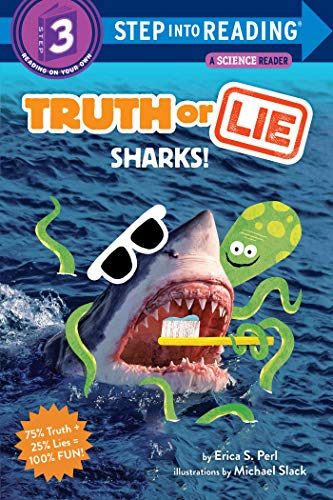 Truth or Lie: Sharks! (Step into Reading, Level 3)