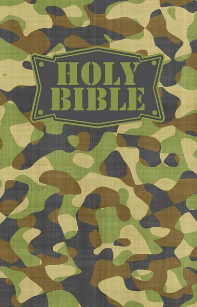 Camouflage Children's Holy Bible (Green, NKJV)