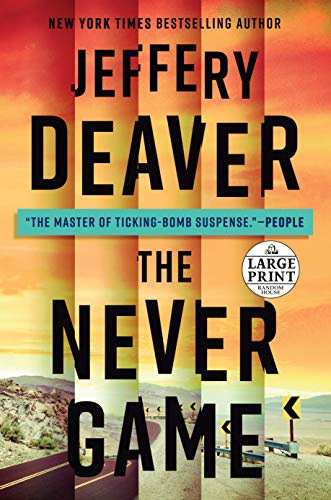 The Never Game (A Colter Shaw, Bk. 1 - Large Print)