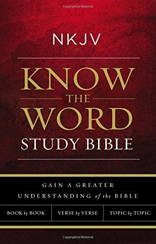 NKJV, Know The Word Study Bible