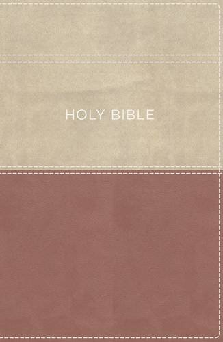 Apply the Word Study Bible (KJV, 2113B, Large Print, Dusty Rose/Cream Imitation Leather)