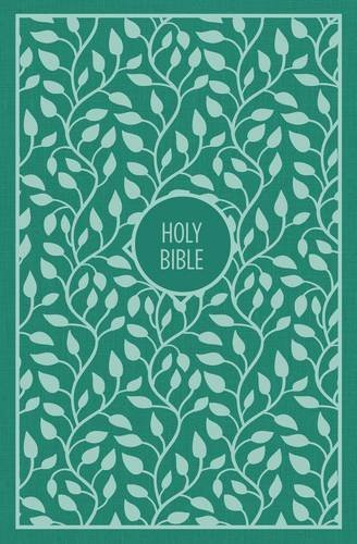 KJV Thinline Bible (Large Print, Green)
