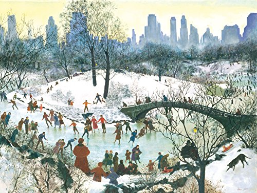 Skating in Central Park (Season's Greeting Note Cards)