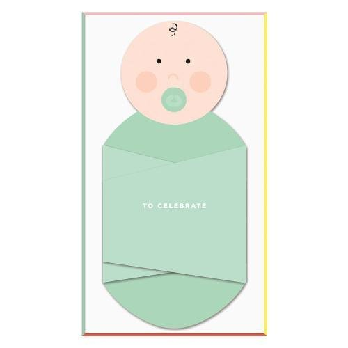 Cheree Berry Swaddle Soiree Baby Shower Invite Notecards