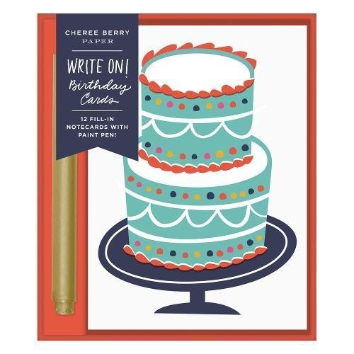 Cheree Berry Birthday Write-on Cards