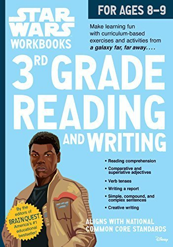3rd Grade Reading and Writing Star Wars Workbook (Ages 8-9) (Softcover)