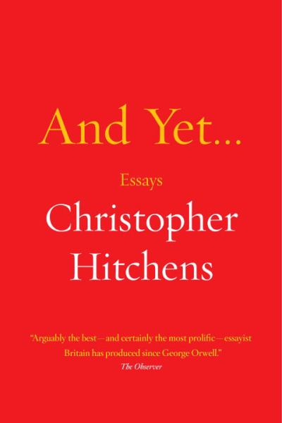 christopher hitchens essay on death From : christopher hitchens rebuts alessandra stanley's essay, who says women aren't funny to see more pictures and video, read more controversial.