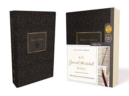 KJV Journal the Word Bible (7582BLK - Black)