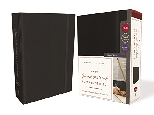 NKJV Journal the Word Reference Bible (8682BK - Black)