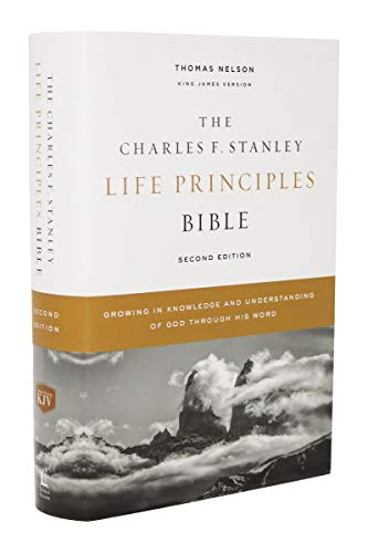 KJV,The Charles F. Stanley Life Principles Bible (2nd Edition)