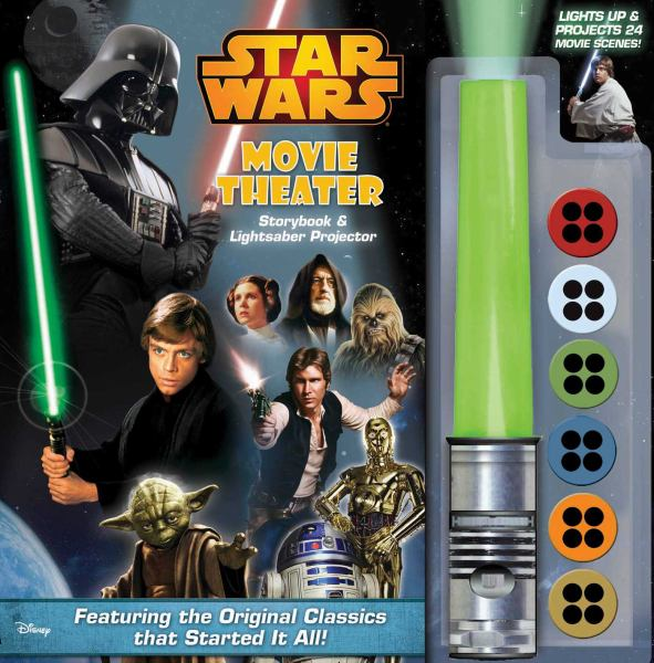Star Wars Movie Theatere Storybook & Lightsaber Projector