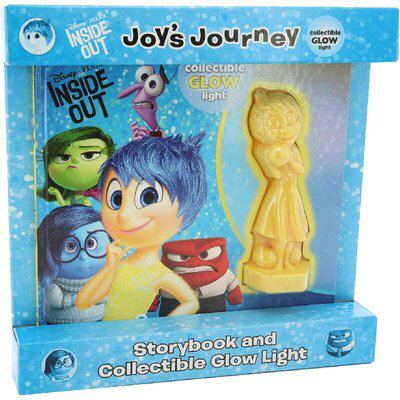 Joy's Journey Storybook and Collectible Glow Light (Disney/Pixar Inside Out)