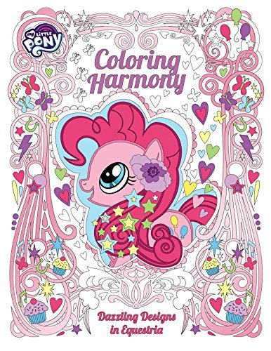 Coloring Harmony: Dazzling Designs in Equestria (My Little Pony)