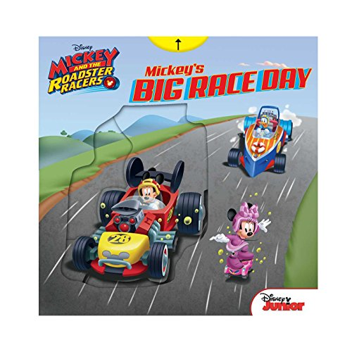 Mickey's Big Race Day (Mickey And The Roadster Racers)