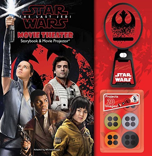 Star Wars: The Last Jedi Movie Theater Storybook & Movie Projector