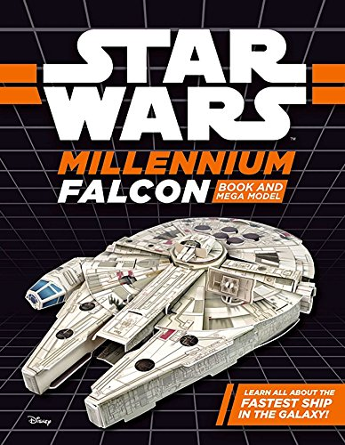 Millennium Falcon Book and Mega Model (Star Wars)
