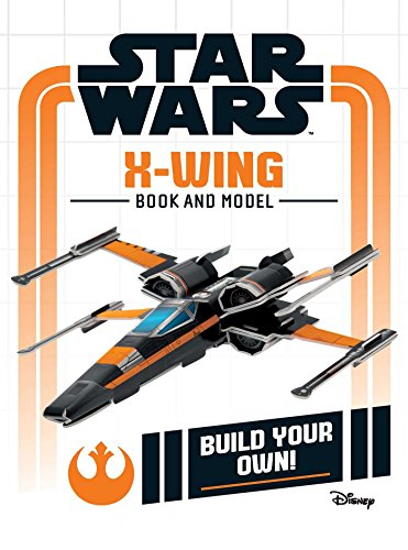 Star Wars X-Wing Book and Model