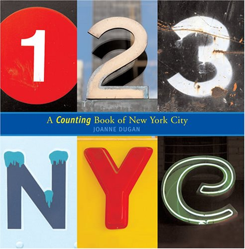 123 New York City: A Counting Book of New York City (Hardcover)