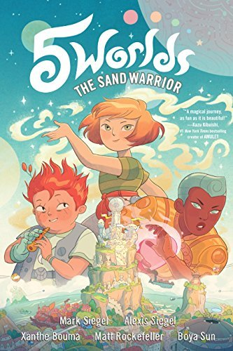 The Sand Warriors (5 Worlds, Vol. 1)