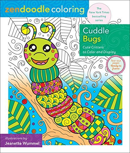 Cuddle Bugs (Zendoodle Coloring)