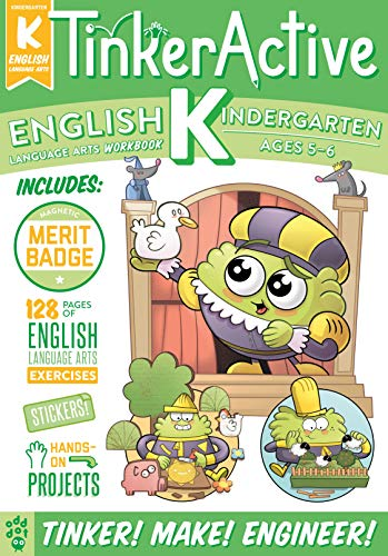 Tinker Active English Workbook (Grade K)