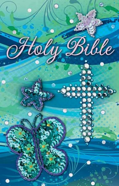 ICB Holy Bible (Shiny Sequin-Teal)