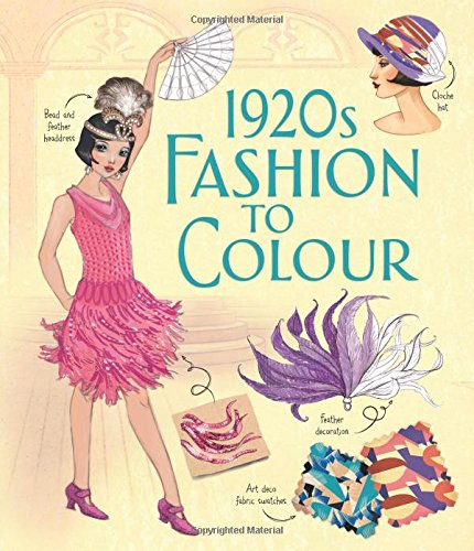 1920s Fashion to Colour (Softcover)